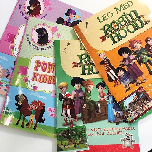 I denne uge kan disse sjove aktivitetsbøger købes i Rema til 29 kr/stk. 📚✏️