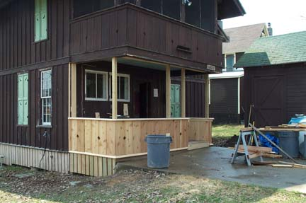 Back Porch (during)