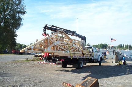 Truss Transport (during)