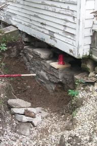 Foundation Rebuilding (during)