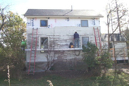 Siding South (during)