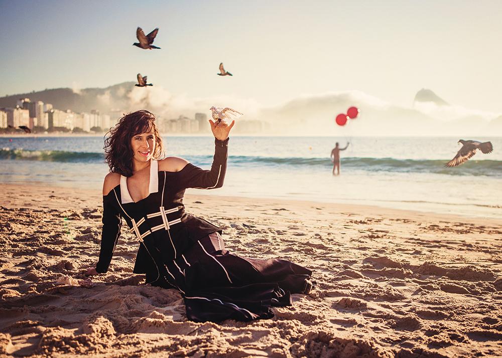Silvia Machete, chanteuse et performer — Rio de Janeiro, BRÉSIL