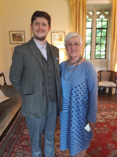 Ben Welford, Actors' Award Winner with Seona Ford, Chair
