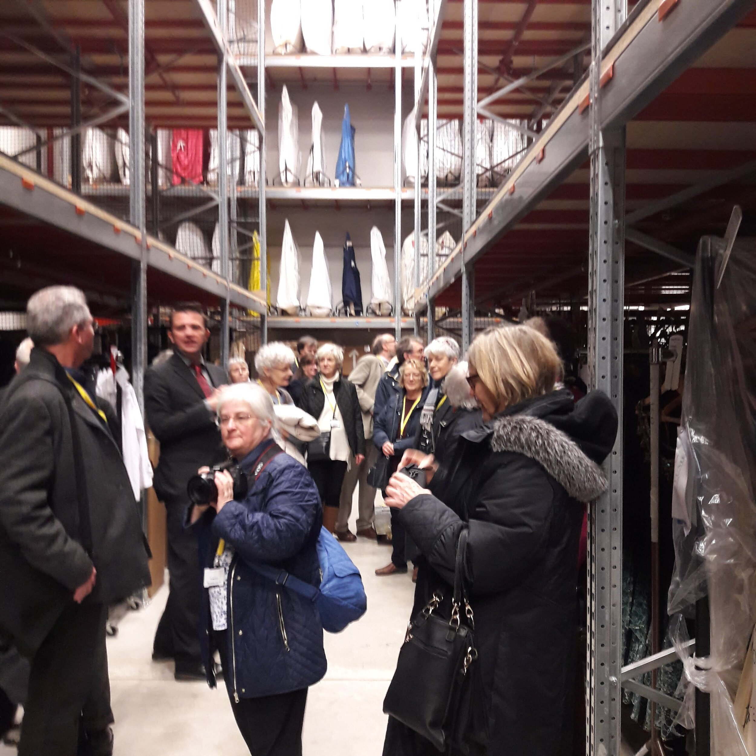 Visit to Royal Opera House facility, Thurrock