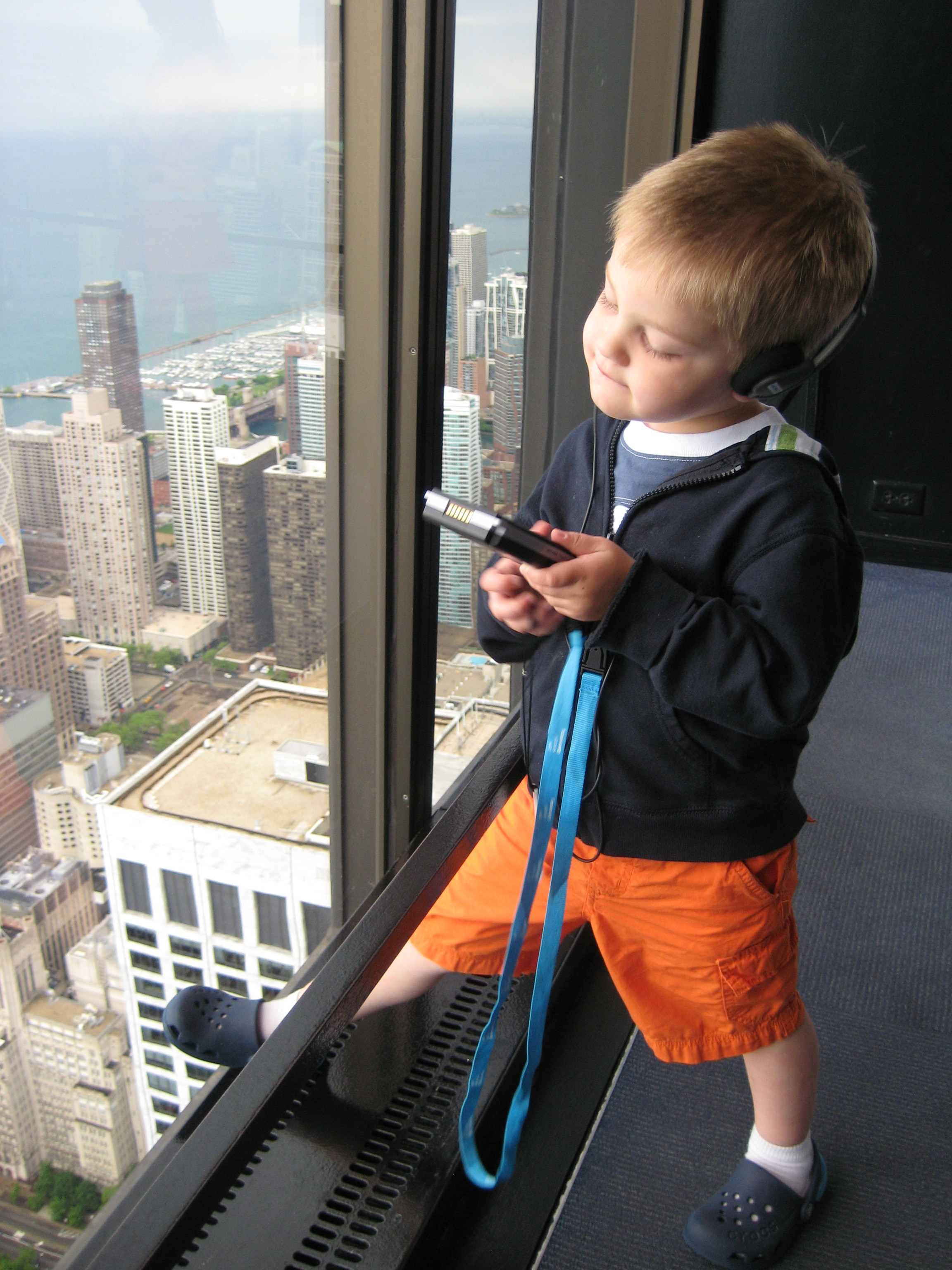 Shane Summer of 2009 - Chicago (Sears Tower)