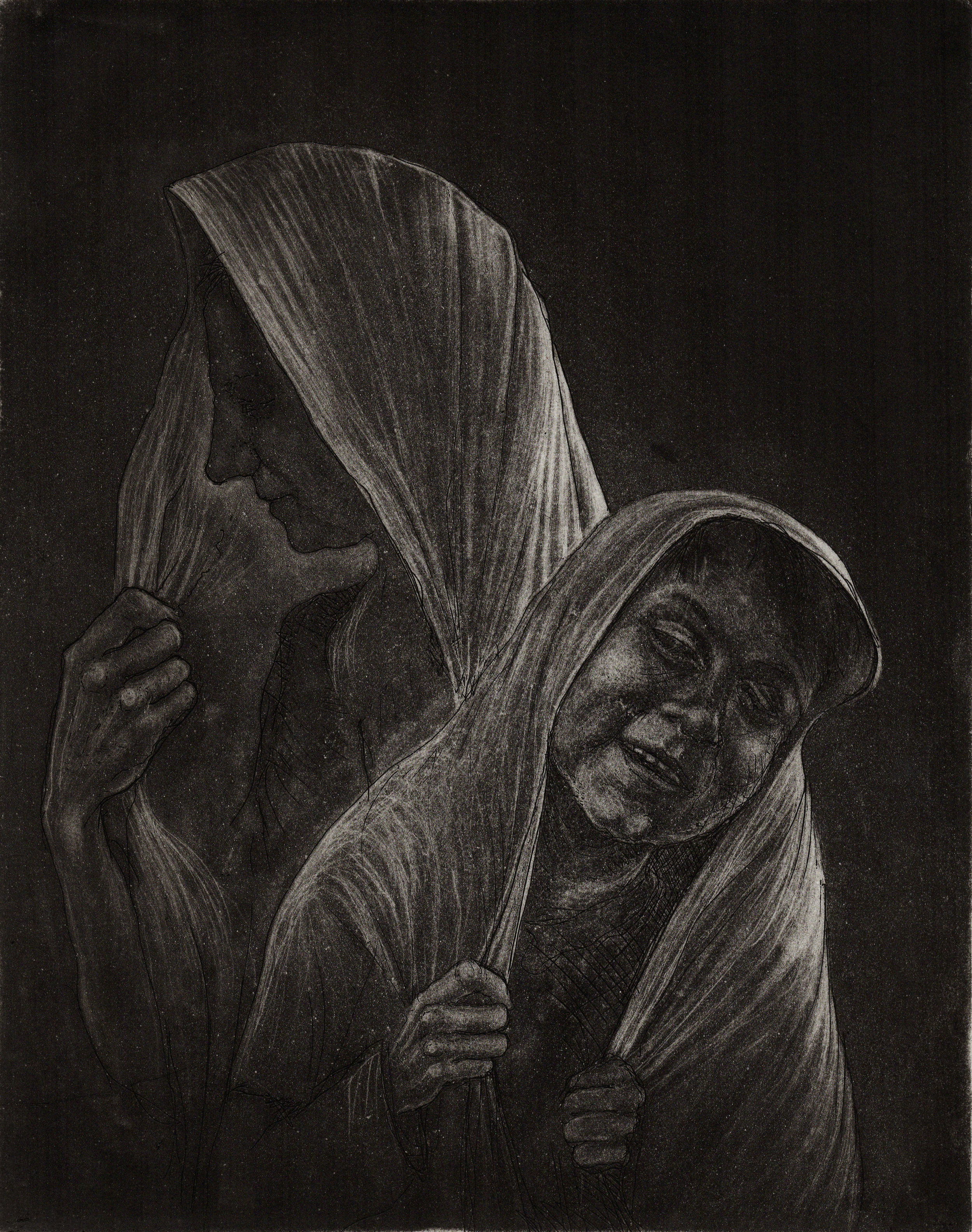 In the Hood, Etching