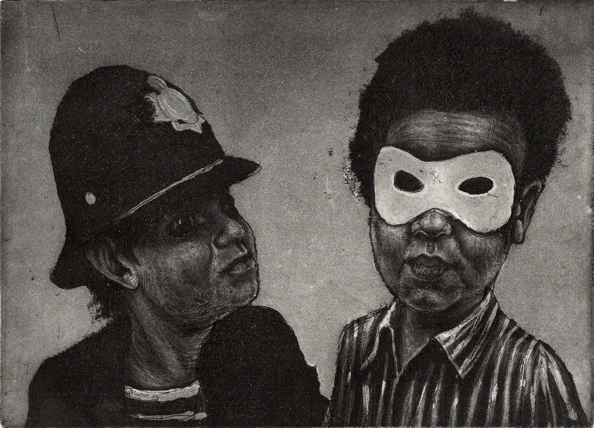 Police and Thieves, Etching