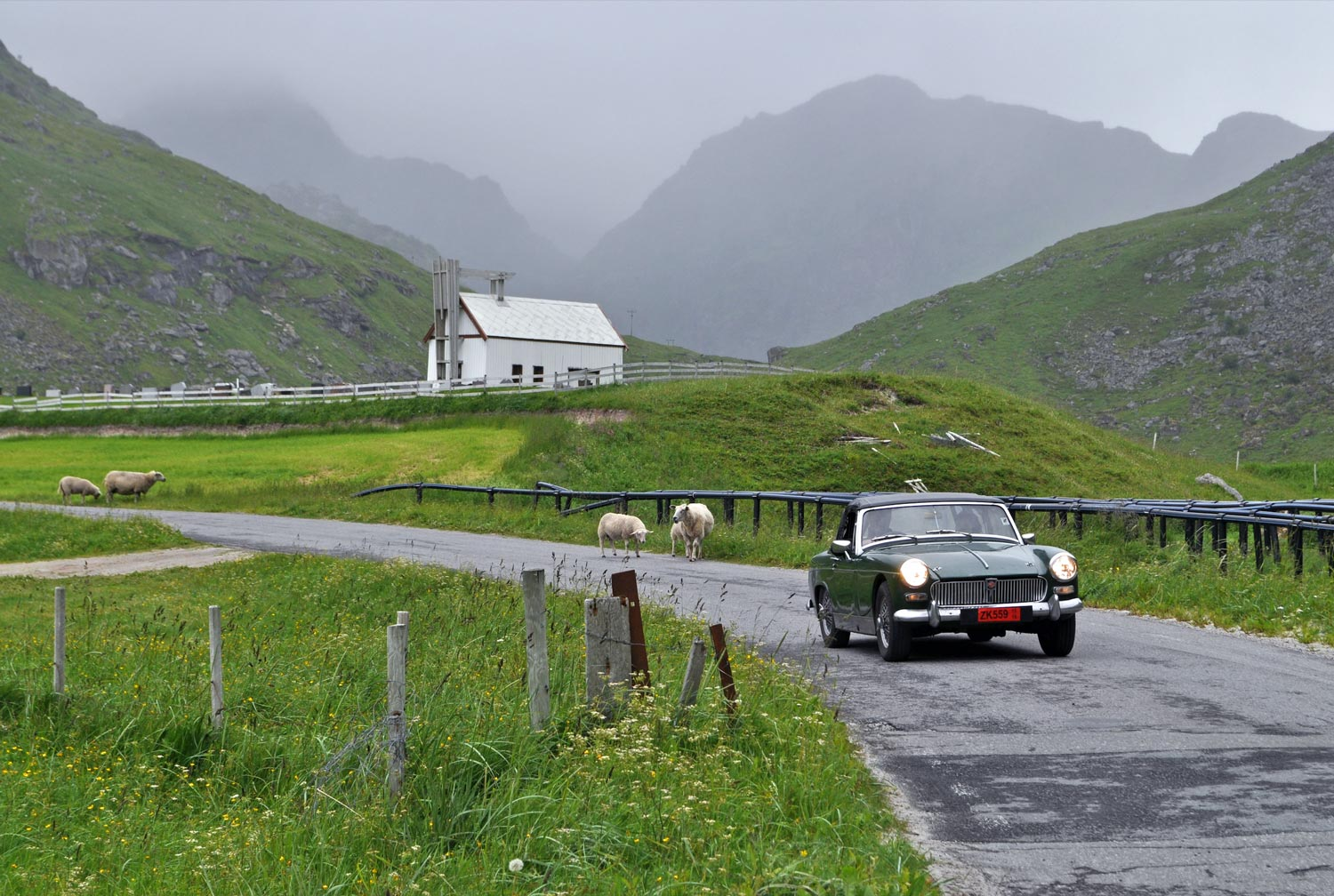Drive around on Lofoten Islands   MAP    OVERVIEW