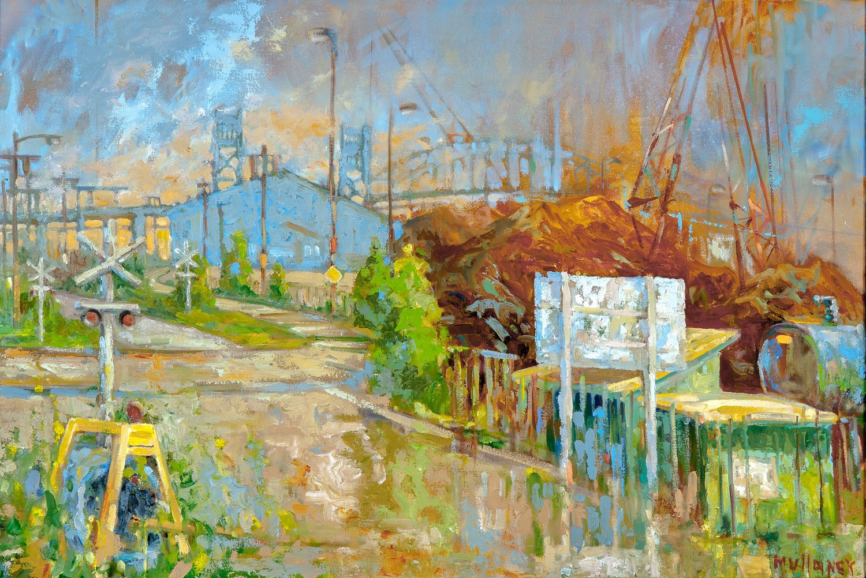 The Crossroads, oil, 40 x 30