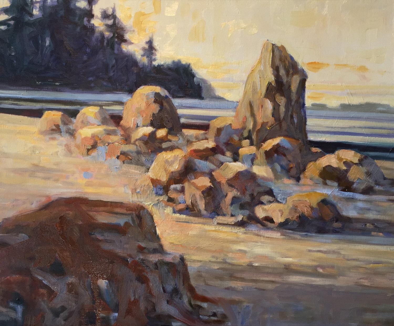 Deer Isle, oil, 20 x 24