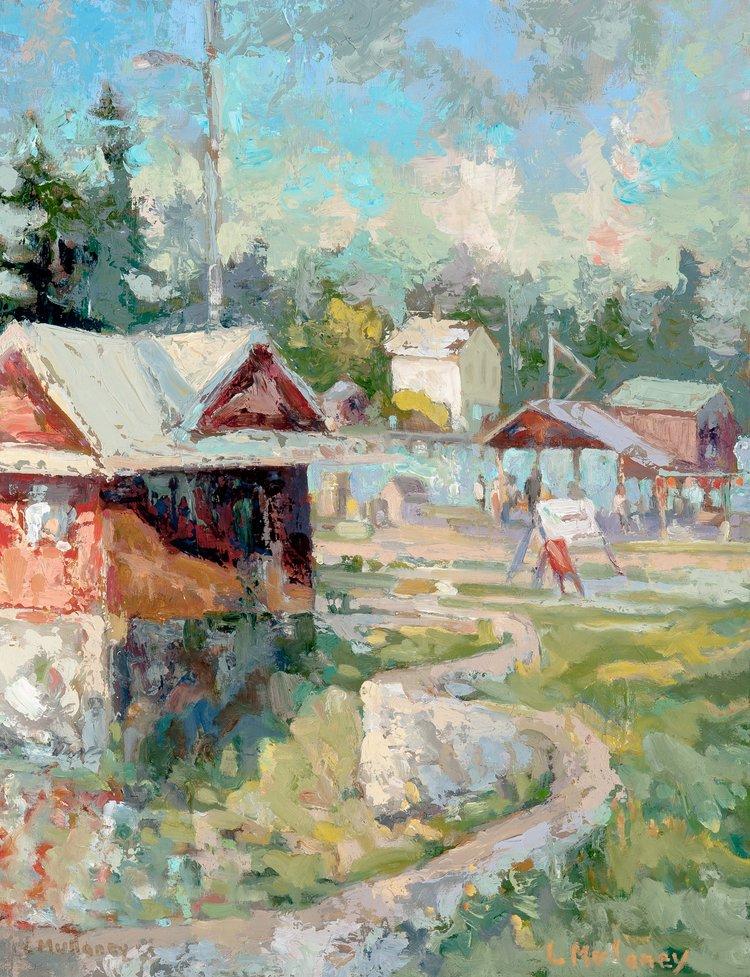 George Marshall Gallery, oils, 12 x 14