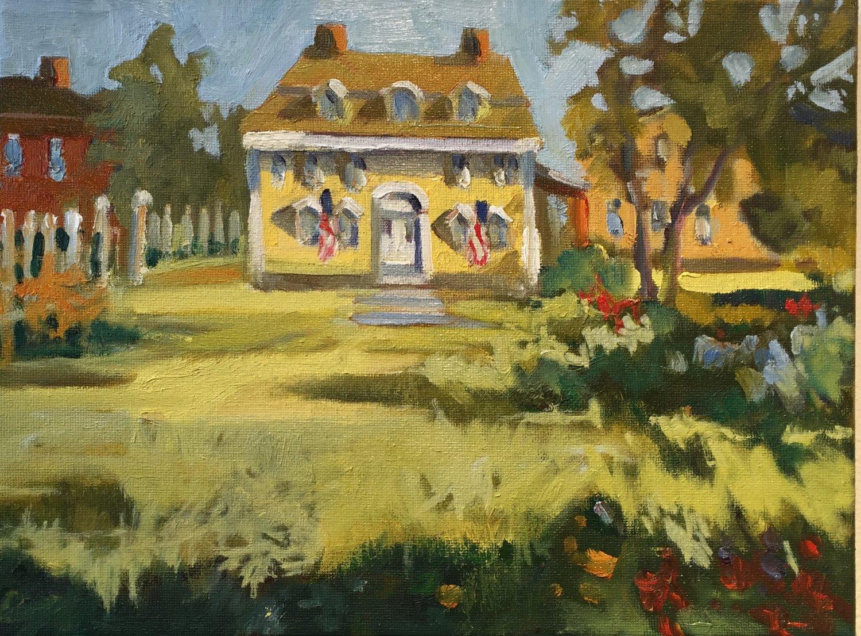 John Paul Jones, oils, 9 x 12