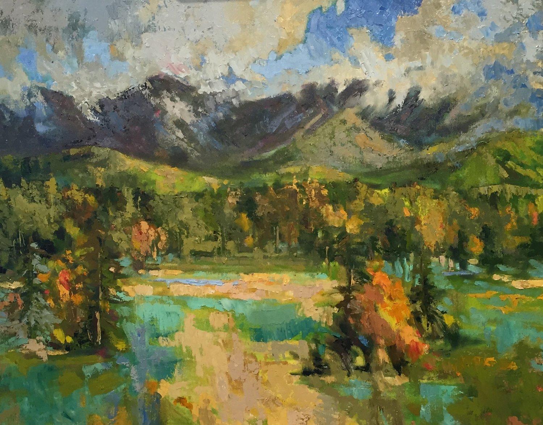 Mt Washington, oils, 22 x26