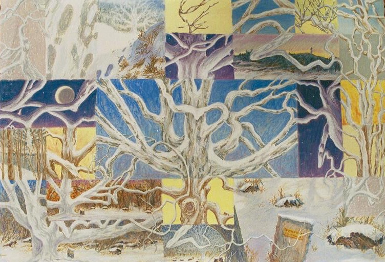 Pinchot Sycamore Quilt, pastel
