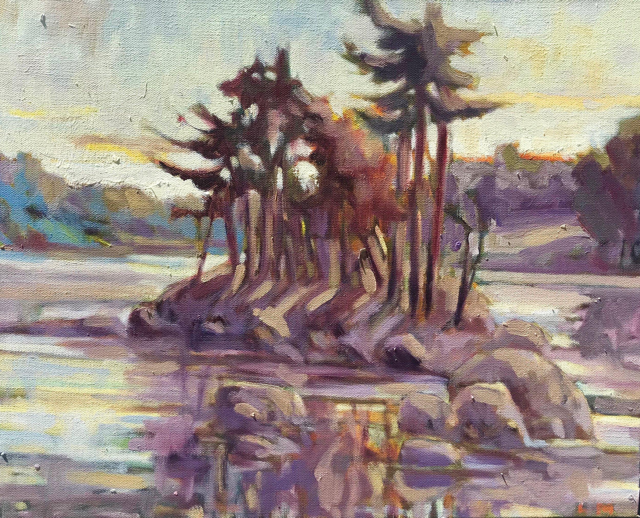 Sagamore Creek oil 16 x 20