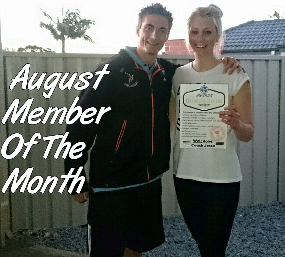 Fulla Strength and Conditioning MOTM (August)