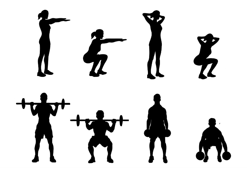 There are plenty of options.  Find the squat that works for  YOU .