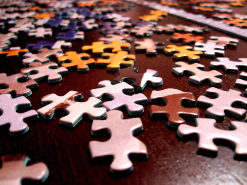 Do you want to try and put a 1,000 piece puzzle together or follow a 'simple' framework???