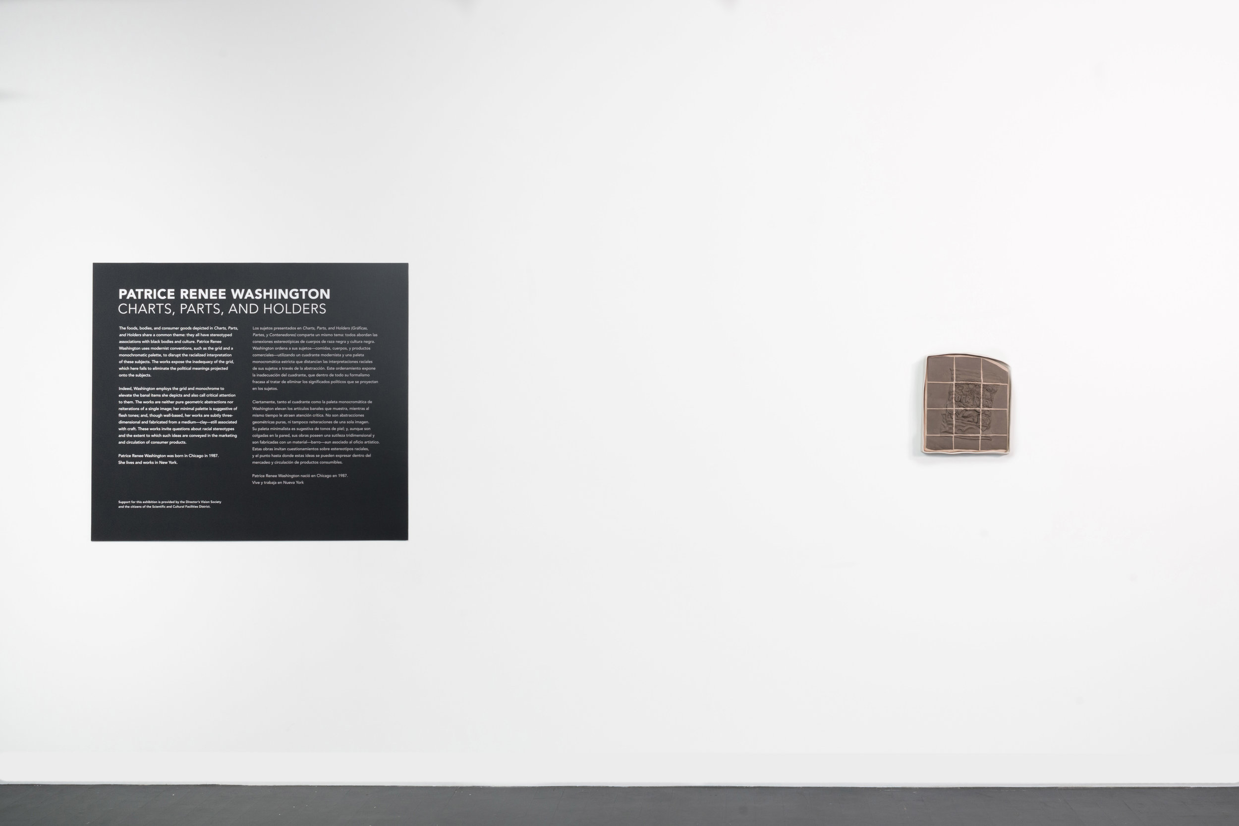 Installation View Charts, Parts, and Holders MCA Denver (2018)  Photograph courtesy of MCA Denver