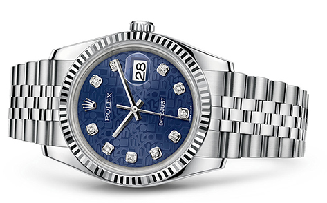 Click for Rolex Date-Just Models