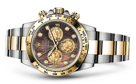 Rolex Daytona Steel & 18K Yellow 116523  Retail Price: $21,600  Our Price: $ 19,400   all for additional savings: 215-922-4367