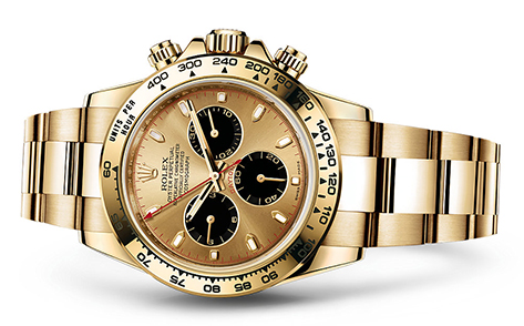 Rolex Daytona 18K yellow 116528  Retail Price: $34,650  Our Price: $29,450   Call for additional savings: 215-922-436