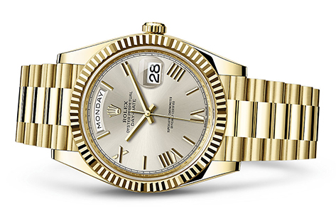 Rolex Day-Date 4mm 18K Yellow 228238  Retail Price: $34,850Our Price: $27,180   Call for additional savings: 215-922-4367