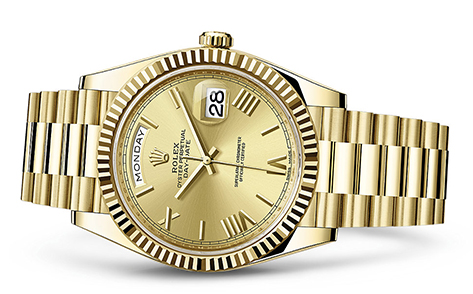 Rolex Day-Date 40mm 18K Yellow 228238  Retail Price: $34,850Our Price: $27,180   Call for additional savings: 215-922-4367