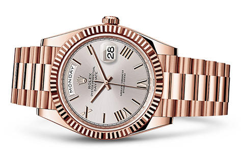 Rolex Day-Date 40mm 18K Rose 228235  Retail Price: $37,550 Our Price: $29,285   Call for additional savings: 215-922-4367