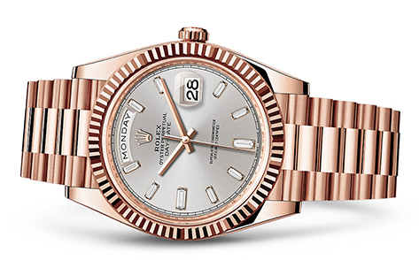 Rolex Day-Date 40mm 18K Rose 228235  Retail Price: $42,000Our Price: $32,760   Call for additional savings: 215-922-4367