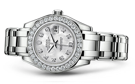 Rolex Pearlmaster 29mm 18K White 80299  Retail Price: $49,850 Our Price: $42,370   Call for additional savings: 215-922-4367