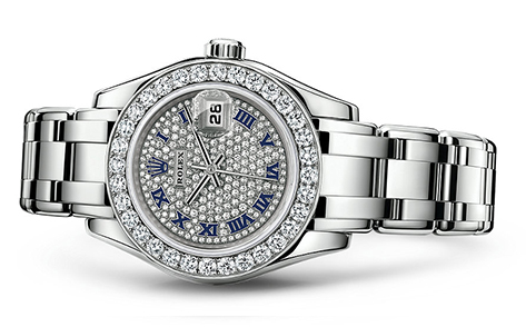 Rolex Pearlmaster 29mm 18K White 80299  Retail Price: $61,100 Our Price: $48,880   Call for additional savings: 215-922-4367