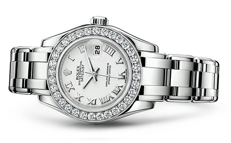 Rolex Pearlmaster 29mm 18K White 80299  Retail Price: $44,200 Our Price: $37,570   Call for additional savings: 215-922-4367
