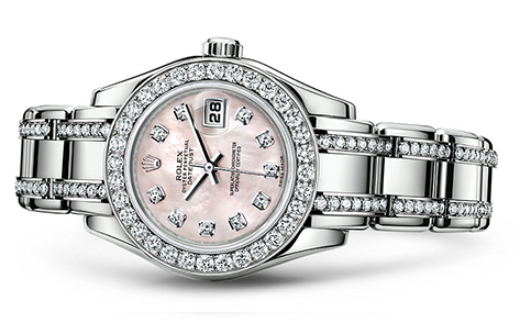 Rolex Pearlmaster 29mm 18K White 80299  Retail Price: $70,850 Our Price: $56,680   Call for additional savings: 215-922-4367