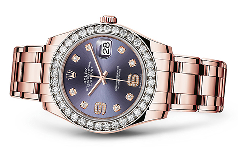 Rolex Pearlmaster 39mm 18K Rose  Special Edition   Call for availability & pricing:215-922-4367