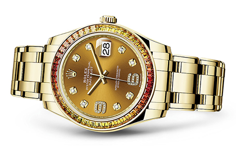 Rolex Pearlmaster 39mm 18K Yellow  Special Edition   Call for availability & pricing: 215-922-4367