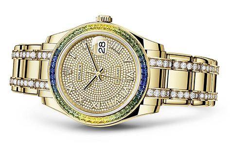 Rolex Pearlmaster 18K Yellow  Special Edition   Call for availability & pricing: 215-922-4367