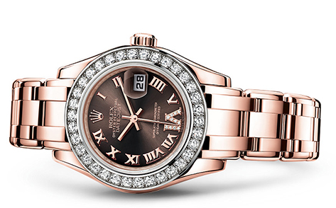 Rolex Pearlmaster 29mm 19K Rose 80285  Retail Price: $52,850 Our Price: $43,340   Call for additional savings: 215-922-4367