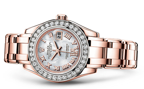 Rolex Pearlmaster 29mm 18K Rose 80285  Retail Price: $54,550 Our Price: $47,550   Call for additional savings: 215-922-4367