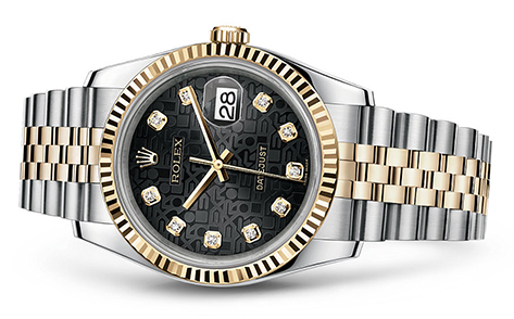 Rolex Datejust 36mm Stainless & 18KY 116233  Retail Price: $12,850 Our Price: $11,250   Call for additional savings: 215-922-4367