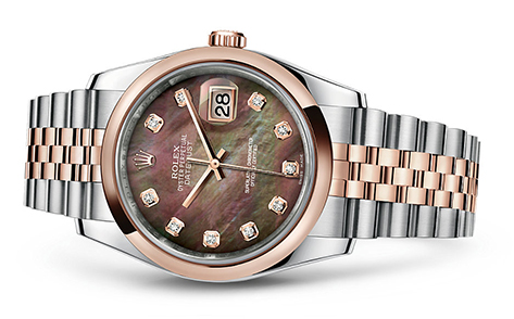 Rolex Datejust 36mm Stainless & 18KR 116201  Retail Price: $16,000 Our Price: $14,000