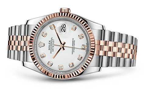 Rolex Datejust 36mm Stainless & 18KR 116231  Retail Price: $13,150 Our Price: 11,850   Call for additional savings: 215-922-4367