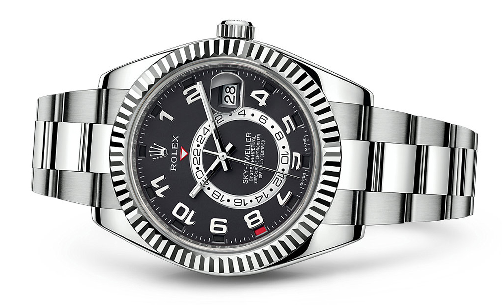 Rolex Skydweller 42mm 18K White 326939  Retail Price: $48,850  Our Price: $39,080   Call for additional savings: 215-922-4367