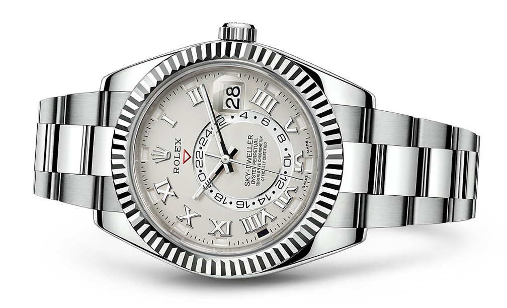 Rolex Skydweller 42mm 18K White 326939  Retail Price: $48,850  Our Price: 39,080   Call for additional savings: 215-922-4367