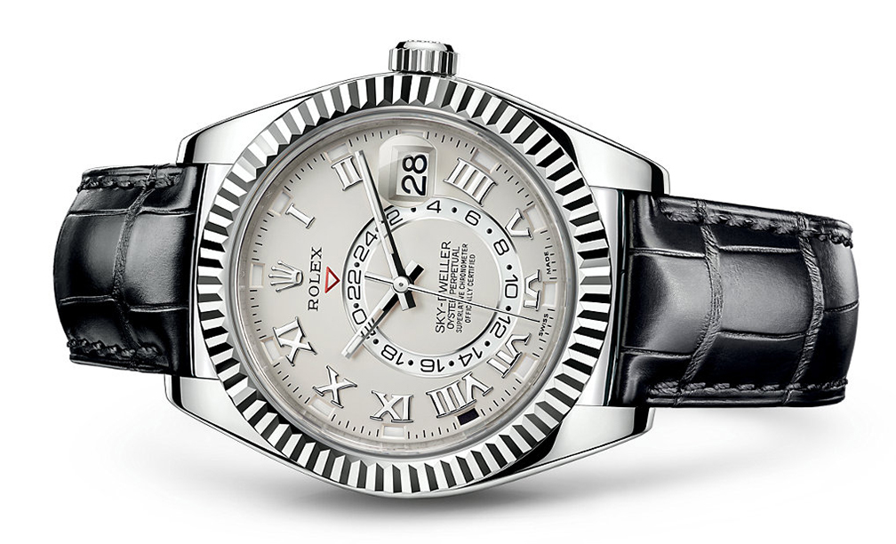 Rolex Skydweller 42mm 18K White 326139  Retail Price: $39,550  Our Price: $31,640   Call for additional savings: 215-922-4367