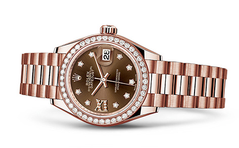 Rolex President 28mm 18K Rose Gold 279135  Retail Price: $38,100  Our Price: $29,995   Call for additional savings: 215-922-4367
