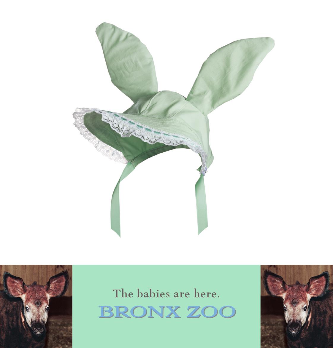 """Bronx Zoo """"Bonnet"""""""