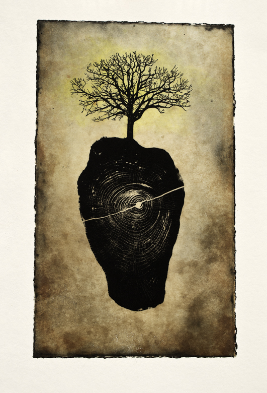 Song of Grace  Etching 2015