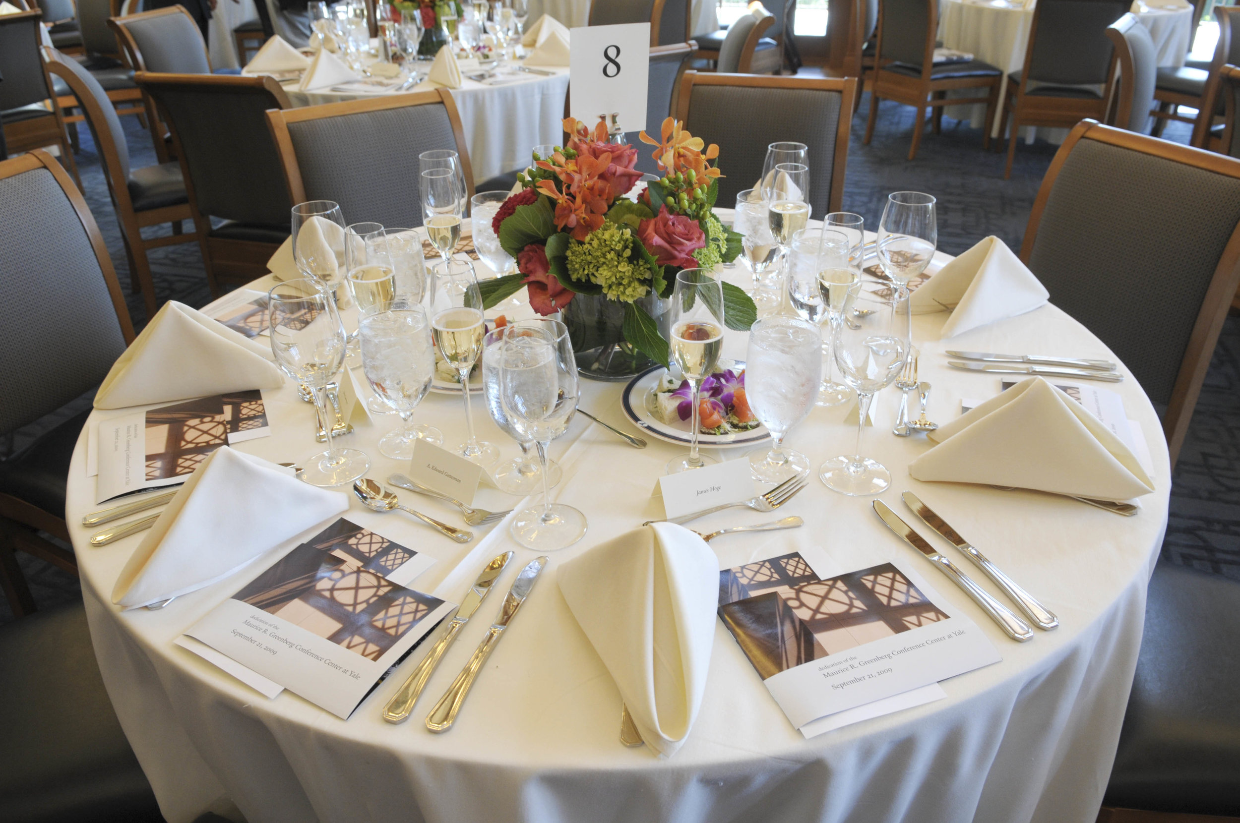 Dining Hall Event Table Set