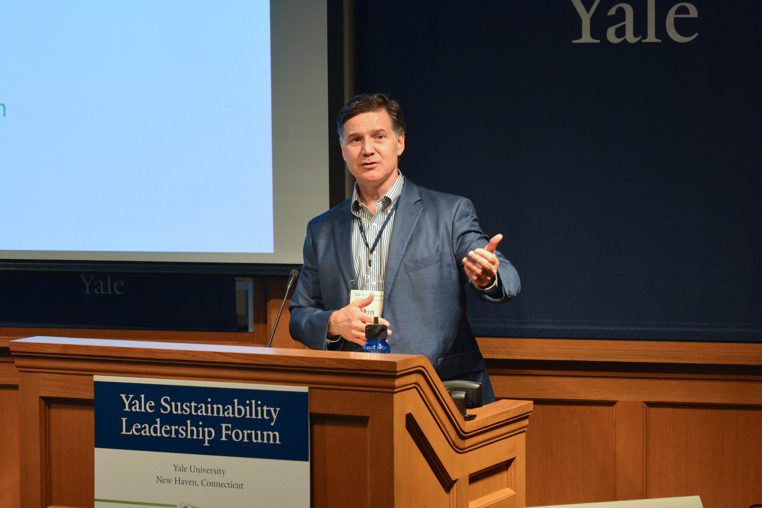 Yale Sustainability Leadership Forum Speaker at Greenberg